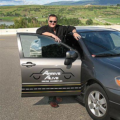 Photo of Ian Nudd, Professional Driving School Instructor in Vernon, BC
